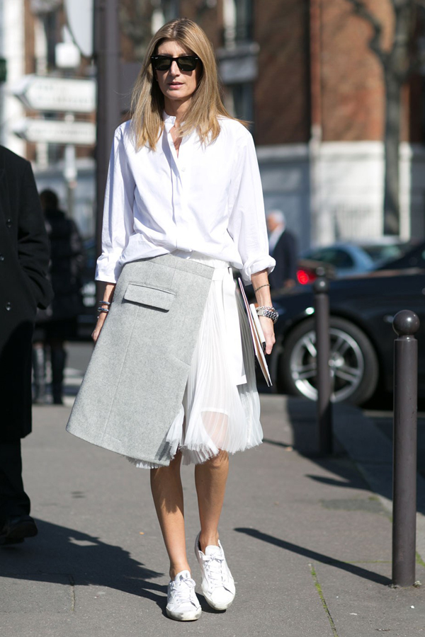 A-Line/full layered skirt