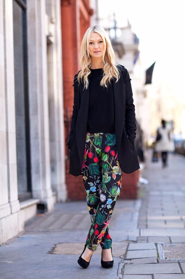 2015-Floral-Pants-For-Women-Street-Style-Trends-13