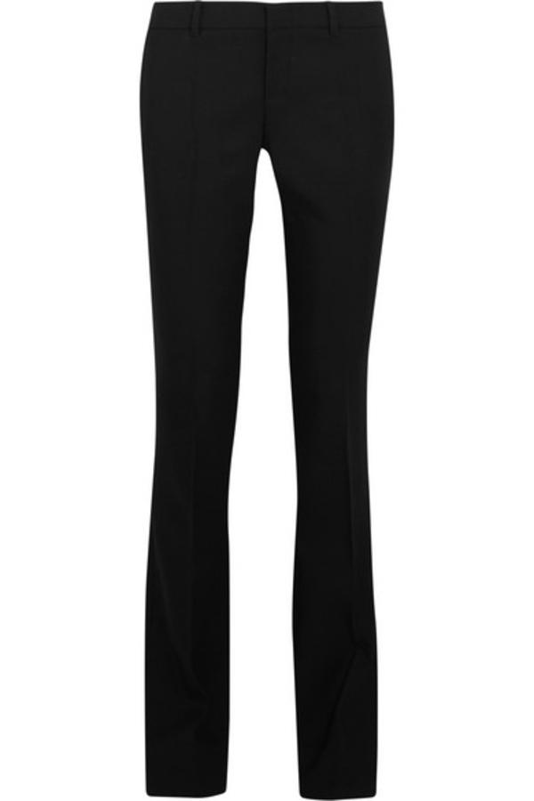Gucci stretch-wool bootcut pants (net-a-porter)