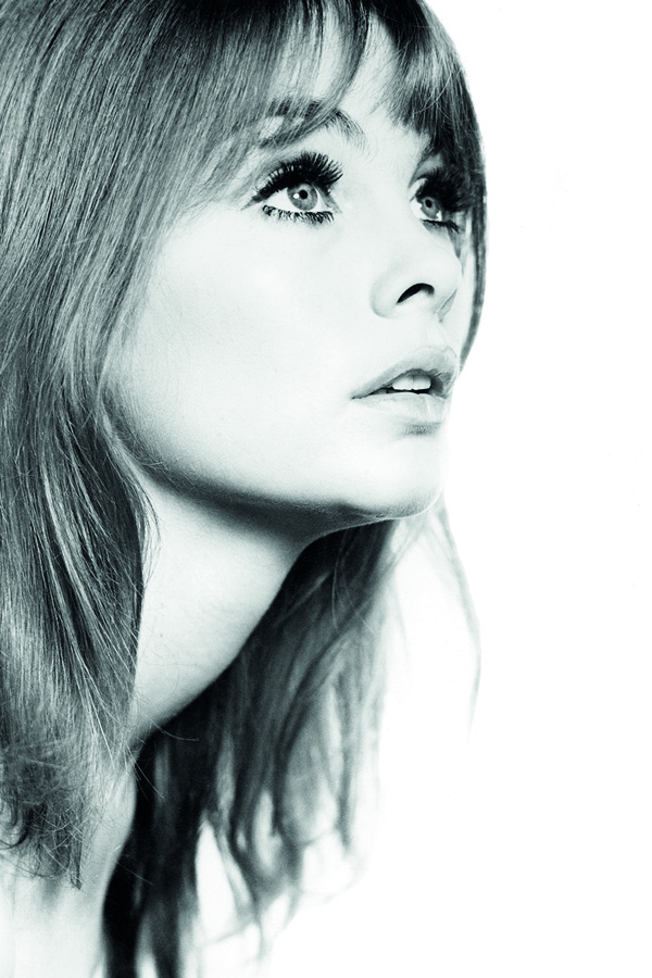 Portrait of Jean Shrimpton in the Sixties Style exhibition consisting of photographers by Brian Duffy