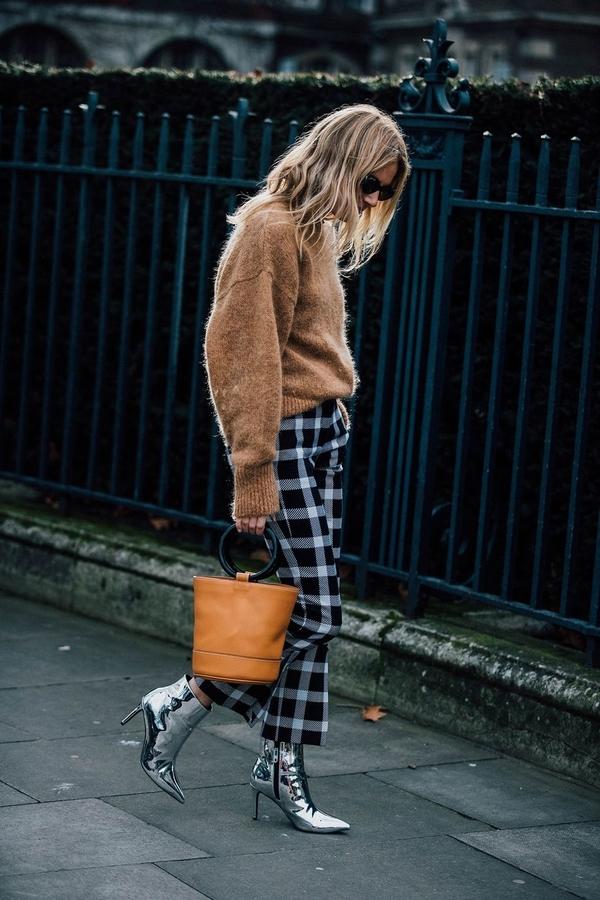 LFW street style Vogue