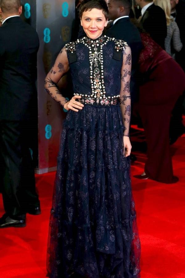 Maggie Gyllenhaal 2014 Lanvin (E News)